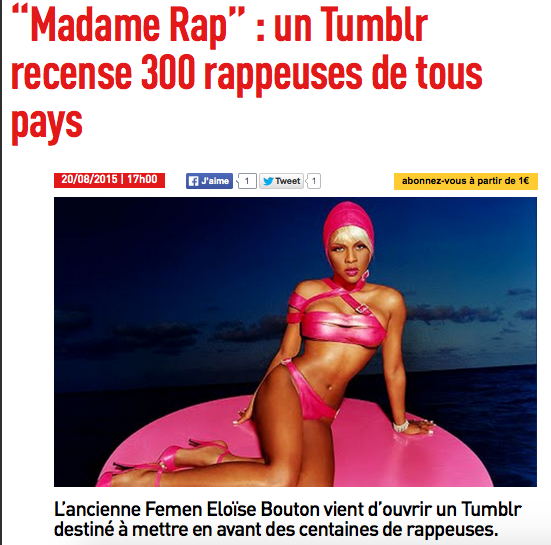 inrocks madame rap news