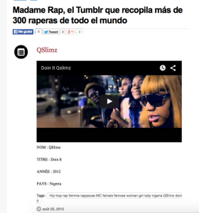 madame rap nvivo