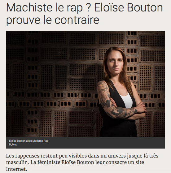 madame rap terriennes