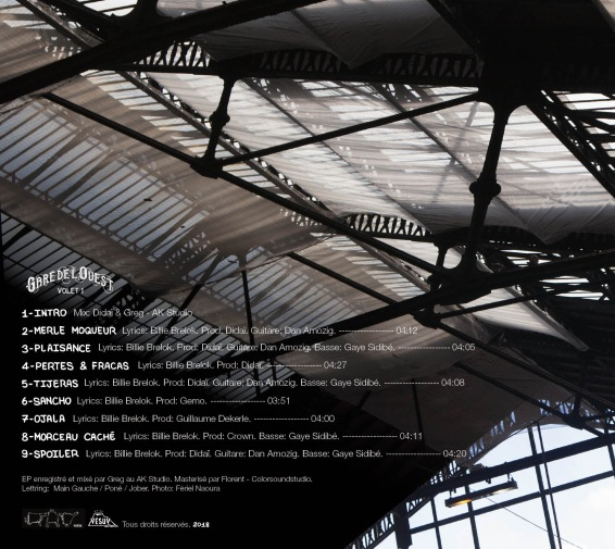 Gare de L'Ouest. Volet 1. - Billie Brelok 2018